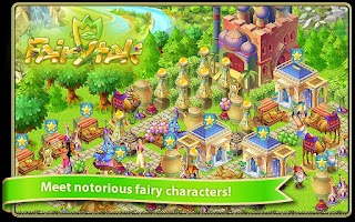 Screenshot of Fairy Day Farm City