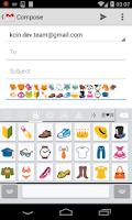 Screenshot of Easy Emoji Keyboard ios+KitKat