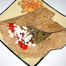 Easy Lentil Feta Wraps