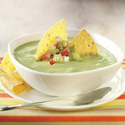 No-Cook Avocado Bisque