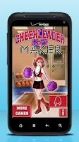 Screenshot of Cheerleader Maker