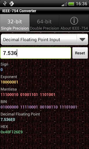 IEEE-754 Converter