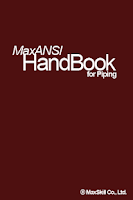 Screenshot of MaxANSI Piping HandBook