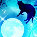 Moon and Blackcat Kirakira icon