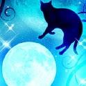 Moon and Blackcat Kirakira icon