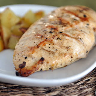 Lemon and Garlic Grilled Chicken