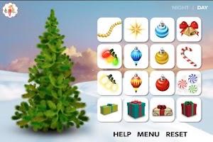 Screenshot of Decorate the Christmas tree