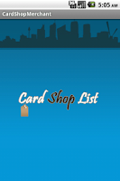 Screenshot of CardShop_Merchant
