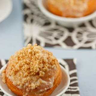 Apple Filled Crumb Donuts
