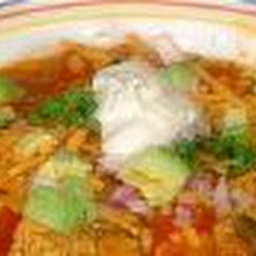 Santa Fe-Tastic Chicken Tortilla Soup