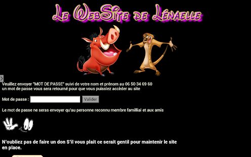 Lenaellewebsite - screenshot