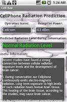 Screenshot of Cell Rad