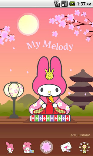 My Melody Kimono Theme