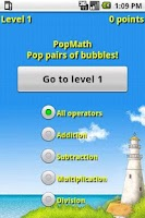 Screenshot of PopMath