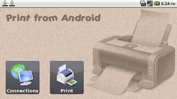 Screenshot of Print from Android