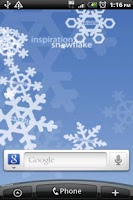 Screenshot of Inspiration Snowflakes