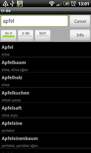 Turkish-German Dictionary