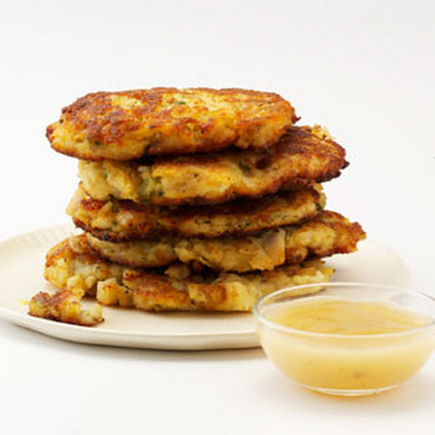 Crispy Mashed Potato & Stuffing Patties