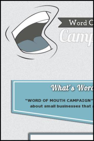 Word Of Mouth Campaign