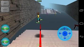 Screenshot of Freebord Snowboard The Streets