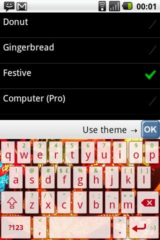 Flexpansion Keyboard FREE Screenshot 5
