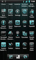 Screenshot of Crystal Theme for CM7