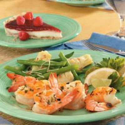 Onion Tarragon Shrimp