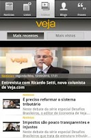 Screenshot of VEJA
