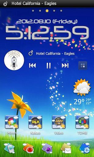 Sky Go Launcher EX theme