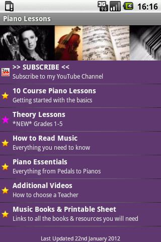 Piano Lesson Tutor