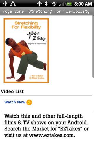 Yoga: Stretching Flexibility