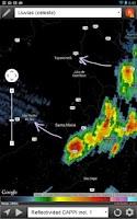 Screenshot of RadAR - Radares Meteorológicos