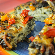 Crispy Mediterranean Vegetable Cakes