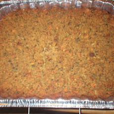 Mama's Cornbread and Sausage Turkey Dressing