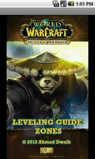 Wow leveling guide : zones