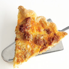 Sausage-Potato Quiche