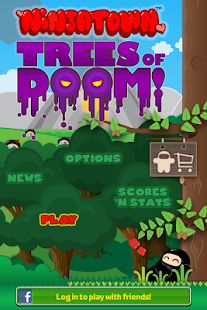 Ninjatown: Trees of Doom!- screenshot thumbnail
