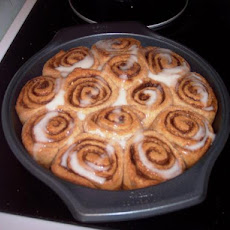 Glazed Cinnamon Rolls - Bread Machine