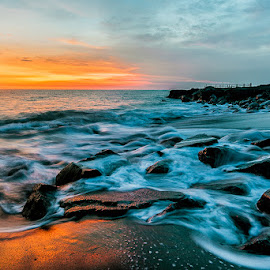 The Motions of Seseh Beach by Mulyadi AM - Landscapes Beaches ( bali, #motion, beach, #sunset )