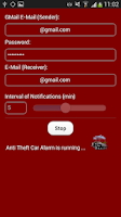 Screenshot of Anti Theft Car Alarm