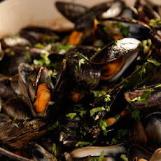 Mussels With Celery And Chilli