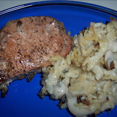 Pork Chop & Rice Casserole
