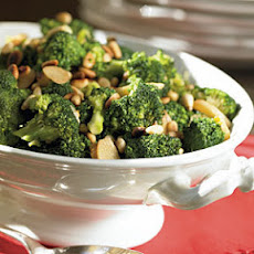 Broccoli with Toasted Pine Nuts and Garlic