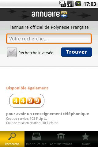 Annuaire OPT