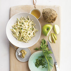 Celery Root and Apple Slaw