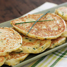 Summer Squash and Chive Pancakes