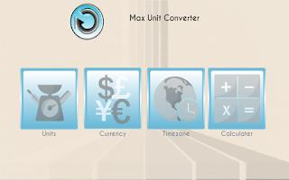Screenshot of Max Unit Converter