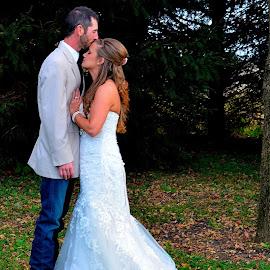 by Sara Humphrey - Wedding Bride & Groom