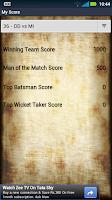 Screenshot of India T20 Cricket Genius