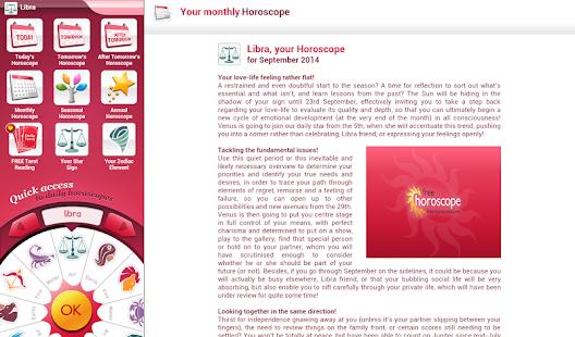 APK App Free Horoscope for BB, BlackBerry